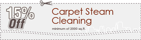 Cleaning Coupons | 15% off carpet steam cleaning | Queens Carpet Cleaning