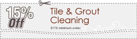 Cleaning Coupons | 15% off tile & grout cleaning | Queens Carpet Cleaning
